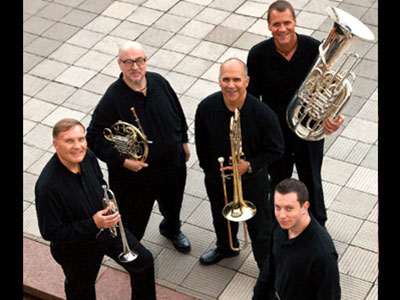 The New York Philharmonic Principal Brass Quintet's Holiday Concert