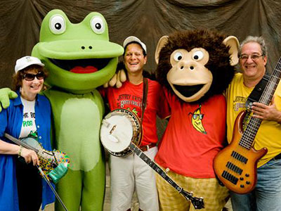 The Bossy Frog Band - Have A Hoppy New Year Concert