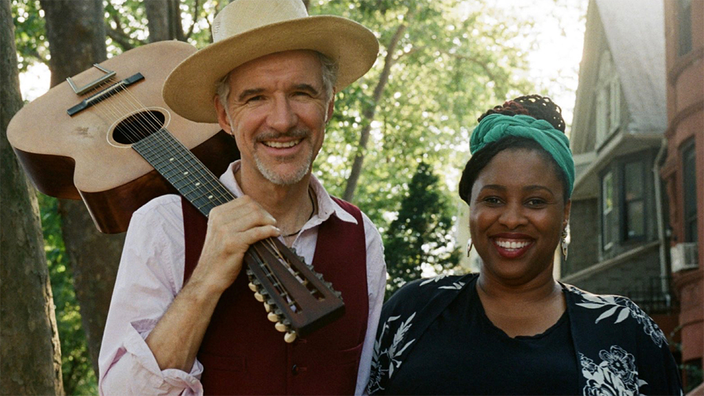 Dan Zanes with Claudia Eliaza