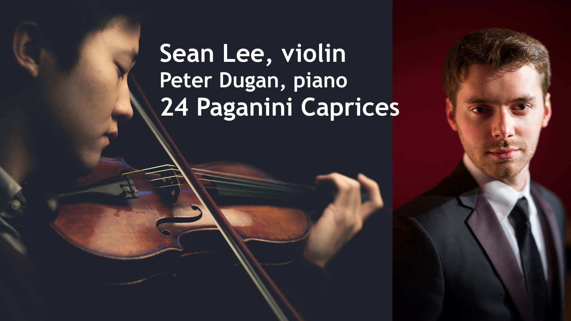 Sean Lee - Violin and Piano