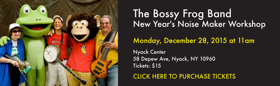 The Bossy Frog Band New Year's Noise Maker Workshop
