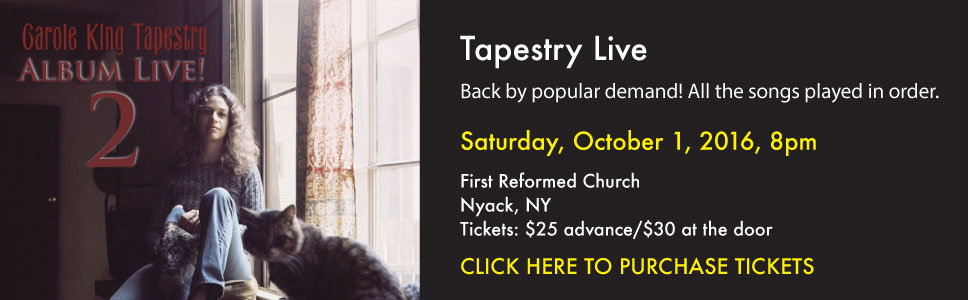 Carole King Tapestry Album Live!