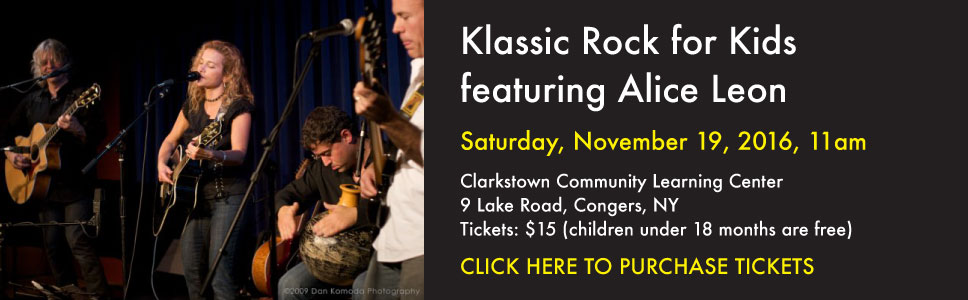 Klassic Rock for Kids featuring Alice Leon