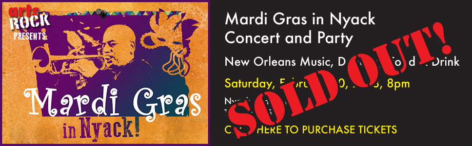 Mardi Gras in Nyack Concert and Party