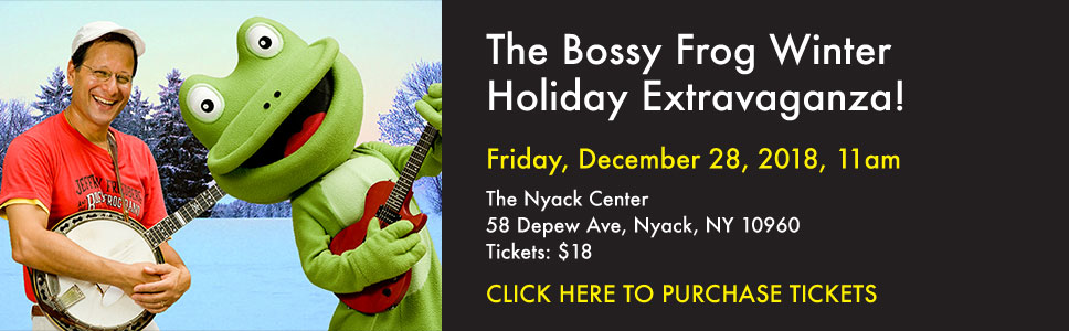 The Bossy Frog Winter Holiday Extravaganza!