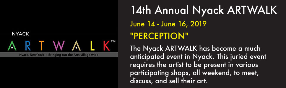 14th Annual Nyack ARTWALK