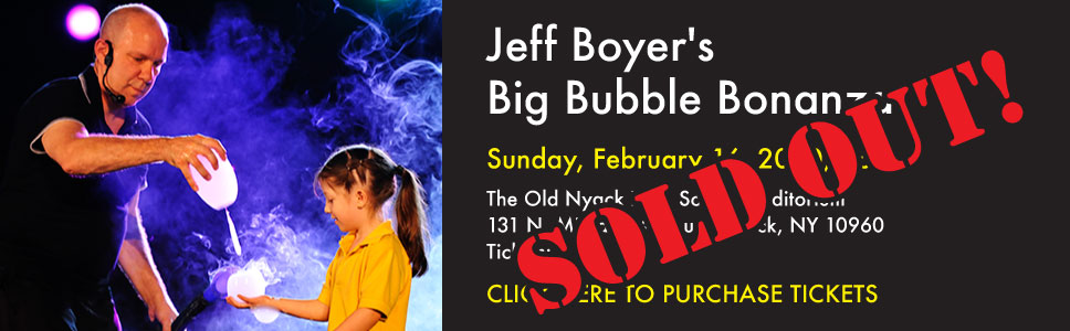 Jeff Boyer's Big Bubble Bonanza