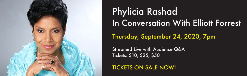 Phylicia Rashad In Conversation With Elliott Forrest
